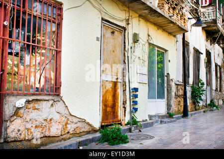 Row of old buildings in Turkey - Stock Image