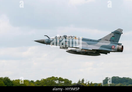 French Air Force Mirage 2000 RIAT 2010 - Stock Image