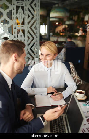 Preparing for presentation - Stock Image