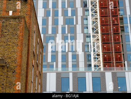 Buildings old and new in the City of London - Stock Image
