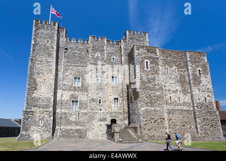 The Great Tower Dover Castle Kent - Stock Image