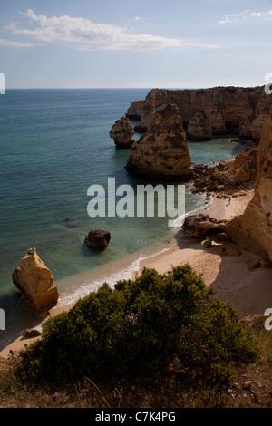 Portugal, Algarve, Praia Da Marinha - Stock Image