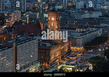Berlin City Hall - Stock Image