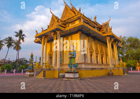 Sangkel Pagoda, Wat Sangke, Battambang, Cambodia, Asia - Stock Image
