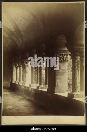 24 Cathédrale Sainte-Eulalie-et-Sainte-Julie d'Elne - J-A Brutails - Université Bordeaux Montaigne - 2297 - Stock Image