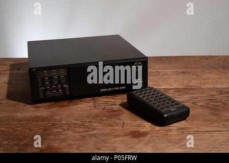 Linn LK1 pre-amplifer with remote control - Stock Image