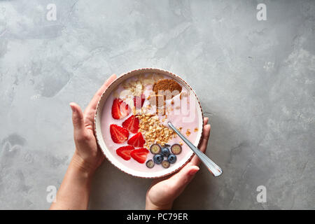 healthy diet,breakfast,cereal - Stock Image