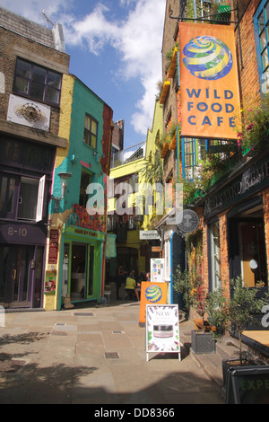 Neal's Yard Covent Garden London - Stock Image