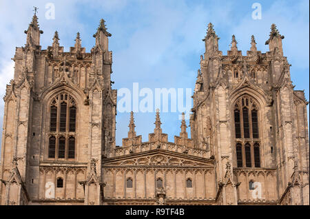 Beverley Minster in Beverley, East Riding of Yorkshire, parish Church of England. It is one of the largest parish churches in the UK - Stock Image