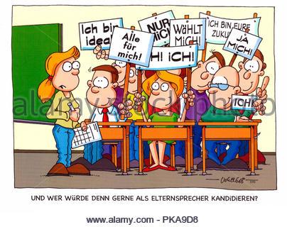parental talk 4 - Stock Image