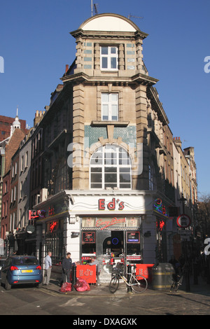 Ed's Easy Diner Soho London - Stock Image