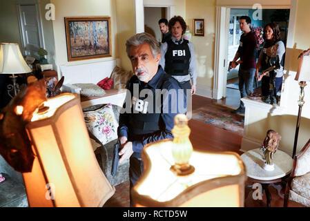 CRIMINAL MINDS 2005> TV-14 series - Stock Image