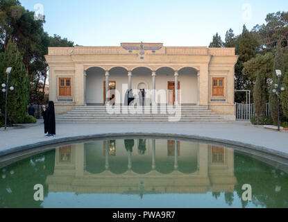 Atash Behram, Zoroastrian fire temple in Yazd, Iran - Stock Image