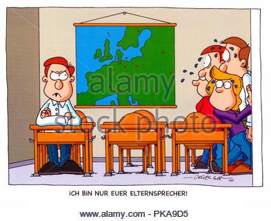 parental talk 3 - Stock Image