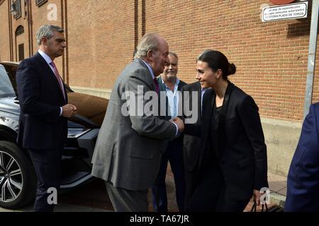 Emeritus King Don Juan Carlos during San Isidro Fair 2019 in Madrid  22/05/2019  Cordon Press - Stock Image