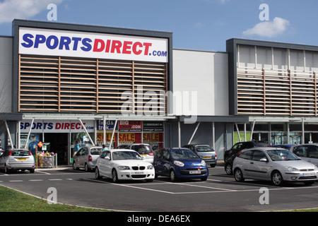 Sports Direct, Monkwearmouth, Sunderland - Stock Image