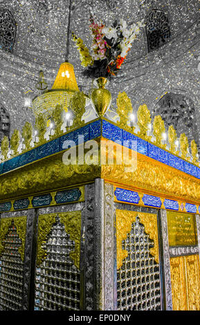 Cheheltanan Emamzadeh, Tehran, Iran - Stock Image