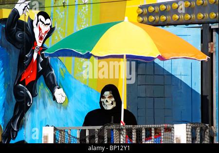 Spooky carnival art - Stock Image