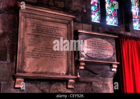 Details from Middlewich St Michael and All Angels Church CW10 9AN - Stock Image