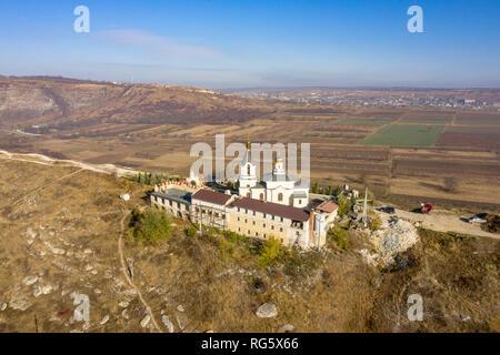 Orhei, Moldova Republic, famous Orthodox Church and region symbol - Stock Image