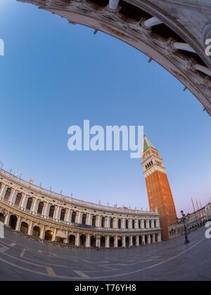 Campanile di San Marco in the morning - Stock Image
