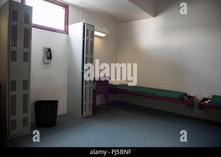 Photos of ICE IGSA Caroline Detention Facility outside Bowling Green, VA - Stock Image