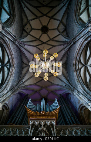 Austria, Vienna, Stephansdom cathedral interior - Stock Image