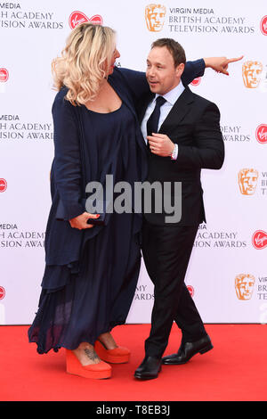 London, UK. 12th May, 2019. LONDON, UK. May 12, 2019: Stephen Graham arriving for the BAFTA TV Awards 2019 at the Royal Festival Hall, London. Picture: Steve Vas/Featureflash Credit: Paul Smith/Alamy Live News - Stock Image