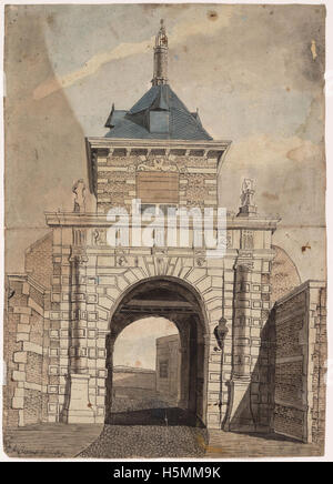 Friese Poort 1809 259 - Stock Image