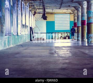 Alcatraz Prison, San Fransisco - Stock Image