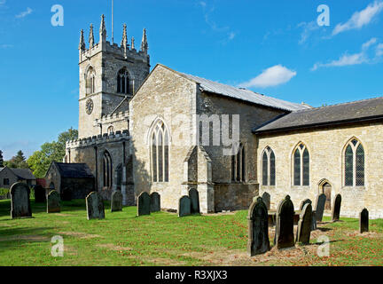 All Saints Church, North Cave, East Yorkshire, England UK - Stock Image