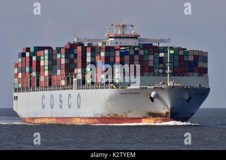 COSCO Belgium - Stock Image