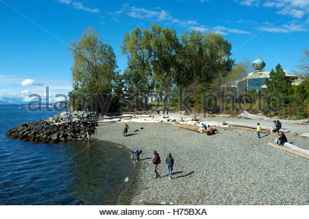 Seattle Art Museum (SAM) Olympic Sculpture Park Pocket Beach, in Seattle, Washington State, USA. - Stock Image