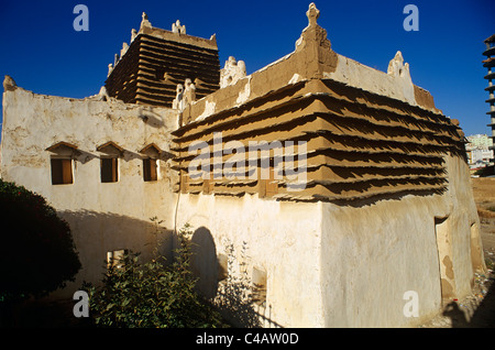 Saudi Arabia, Asir, Abha. Built in around 1927 for a local governor, the Shada Palace - Stock Image