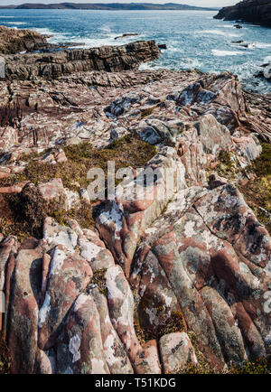 Loch Ewe, Poolewe, west coast of Scotland. - Stock Image