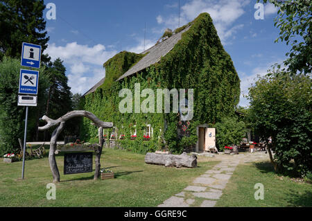 Sassi Dinner House in village Leisi, island Saaremaa. Estonia, Baltic States, EU - Stock Image