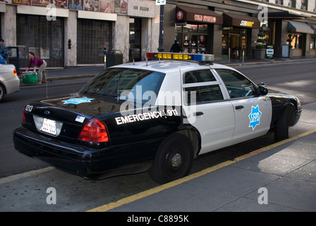 San Francisco Police Department Vehicle - Stock Image
