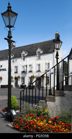 The Black Bull Hotel, Lauder in the Scottish Borders - Stock Image