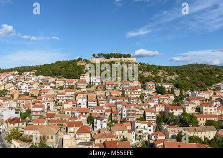St. John's Fortress, Sibenik, Croatia - Stock Image