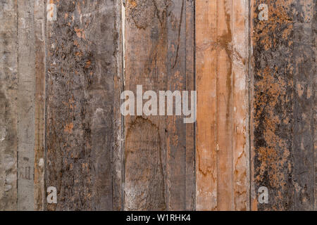 Texture of wooden boards for background - Stock Image