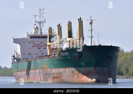 Bulk Carrier Velvet - Stock Image