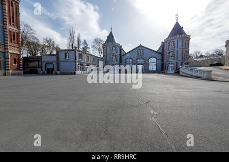 France, Reims, 2017, Domaine Pommery , Reims, - Stock Image
