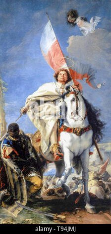 Giovanni Battista Tiepolo, St James the Greater Conquering the Moors, c. 1749 - Stock Image