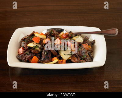 spiced lamb - Stock Image