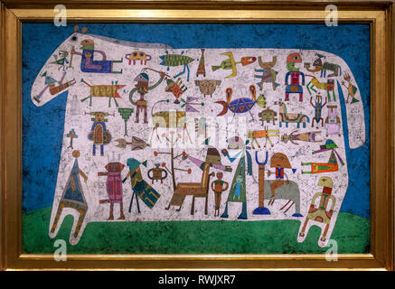 Prelude to a Civilization, Victor Brauner, The Metropolitan Museum of Art, Manhattan, New York USA - Stock Image