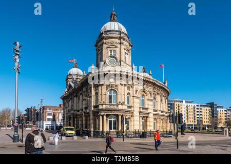 Maritime Museum,Kingston upon Hull,England - Stock Image
