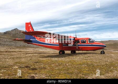 Britten Norman Islander - Stock Image