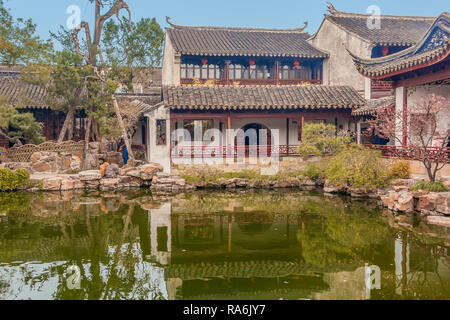Garden Master Of The Nets Shanghai China - Stock Image