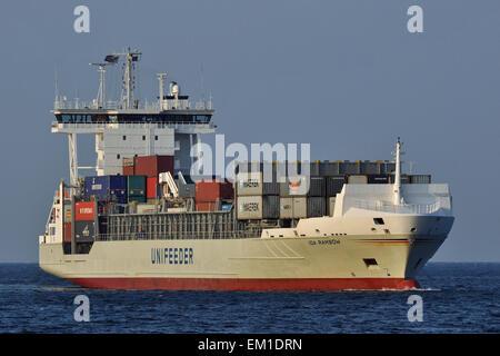 Containerfeeder Ida Rambow - Stock Image