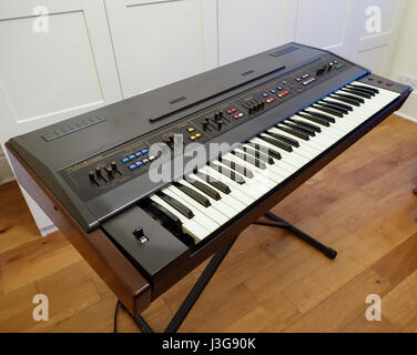 Farfisa Polychrome keyboard - Stock Image